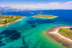 PLAVA LAGUNA-otok Budikovac