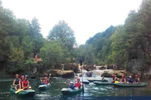 kayaking mrežnica